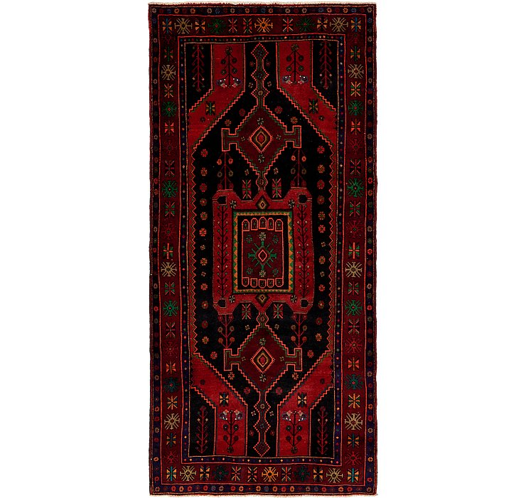 4' 9 x 10' 6 Koliaei Persian Runner ...