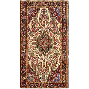 4' 10 x 9' 2 Borchelu Persian Rug
