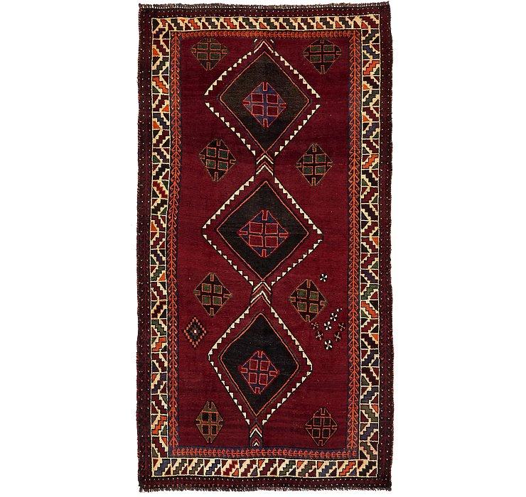 4' 8 x 8' 11 Shiraz-Lori Persian Rug