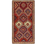 Link to 3' 6 x 7' 2 Shiraz Persian Runner Rug