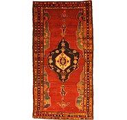 Link to 4' 1 x 8' Hamedan Persian Runner Rug