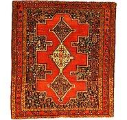 Link to 4' 6 x 5' 2 Sanandaj Persian Rug