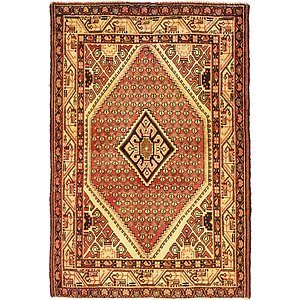 Unique Loom 4' 4 x 6' 3 Farahan Persian Rug