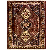 Link to 5' 2 x 6' 6 Shiraz Persian Rug