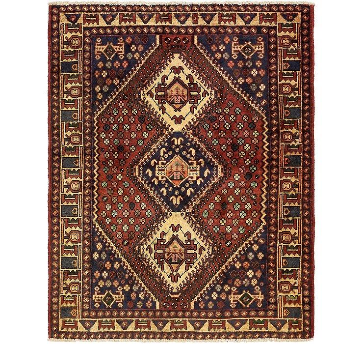 5' 2 x 6' 6 Shiraz Persian Rug
