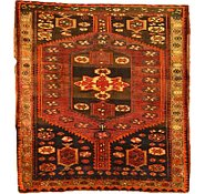 Link to 4' 7 x 4' 9 Bidjar Persian Square Rug