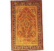 Link to 4' 5 x 7' Farahan Persian Rug