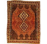 Link to 4' 6 x 5' 11 Hamedan Persian Rug