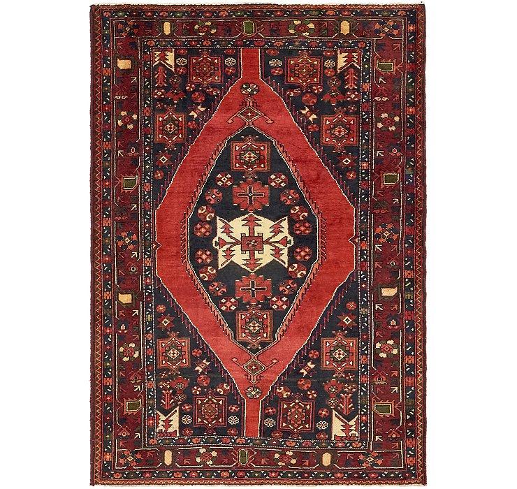 4' 8 x 7' Mazlaghan Persian Rug