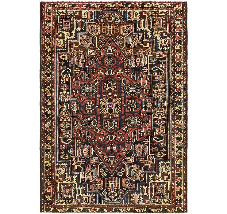 4' 4 x 6' 4 Saveh Persian Rug