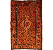 Link to 4' 6 x 6' 11 Hamedan Persian Rug