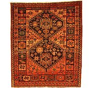 Link to 4' 6 x 5' 5 Shiraz-Lori Persian Rug