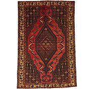 Link to 4' 6 x 6' 7 Mazlaghan Persian Rug