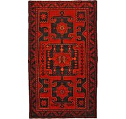 Link to 4' 7 x 7' 11 Hamedan Persian Rug