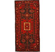 Link to 4' 9 x 10' 1 Hamedan Persian Runner Rug
