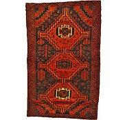 Link to 4' 2 x 6' 11 Shiraz-Lori Persian Rug
