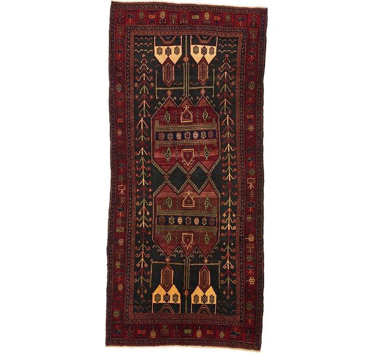 4' 9 x 10' 3 Sirjan Persian Runner Rug