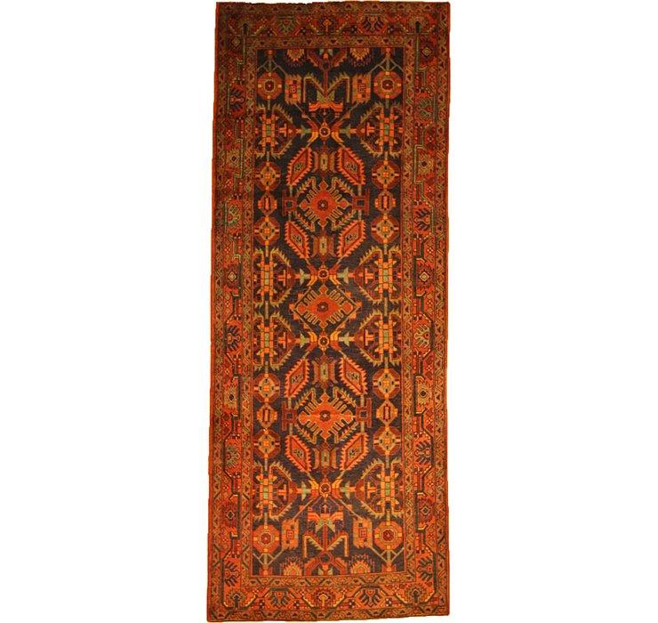 4' 3 x 11' Nanaj Persian Runner Rug