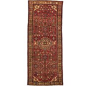 Link to 4' 2 x 10' Hamedan Persian Runner Rug