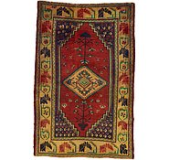 Link to 4' 6 x 6' 11 Shiraz-Lori Persian Rug