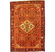Link to 4' 2 x 6' 2 Hossainabad Persian Rug