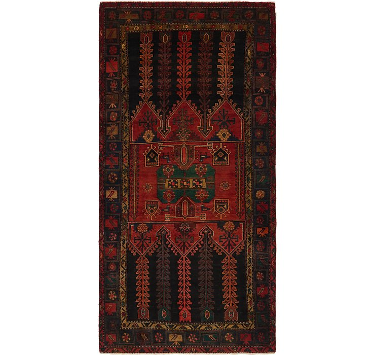 5' x 10' 5 Koliaei Persian Runner ...