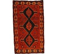 Link to 4' 8 x 8' 2 Ghoochan Persian Rug