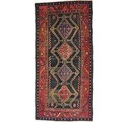 Link to 4' 9 x 9' 11 Hamedan Persian Runner Rug