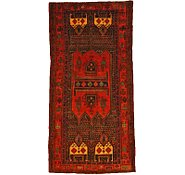 Link to 4' 9 x 9' 5 Sanandaj Persian Rug