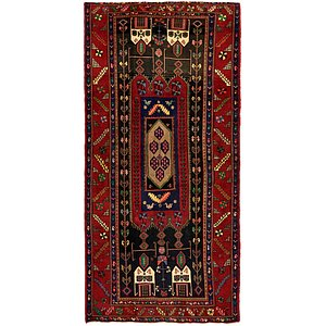 HandKnotted 5' 2 x 9' 9 Koliaei Persian Rug