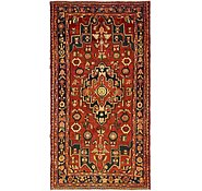 Link to 4' 10 x 9' Hamedan Persian Runner Rug
