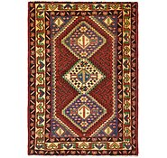 Link to 4' 10 x 6' 7 Shiraz Persian Rug