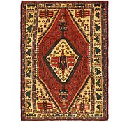 Link to 4' 9 x 7' Shiraz Persian Rug