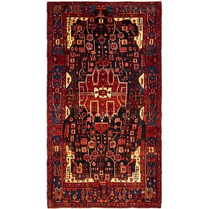 HandKnotted 5' 5 x 10' Nahavand Persian Rug