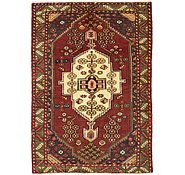 Link to 4' 4 x 6' 4 Mazlaghan Persian Rug