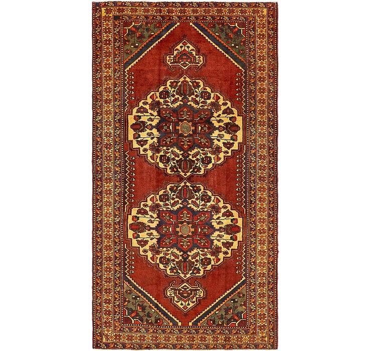 5' 1 x 10' Shiraz Persian Rug