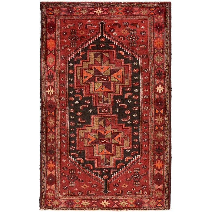 4' 3 x 6' 10 Khamseh Persian Rug