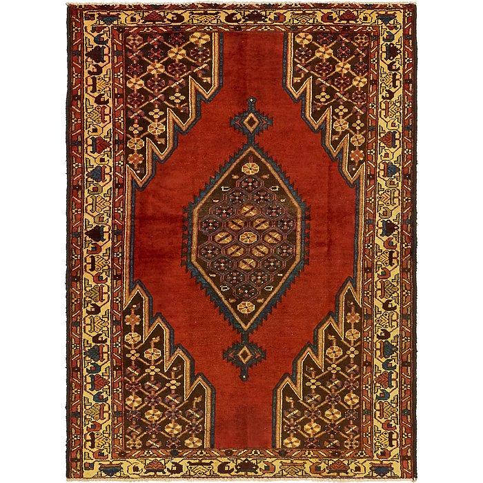 4' 5 x 6' 5 Mazlaghan Persian Rug