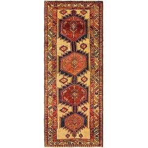 HandKnotted 3' 10 x 9' 9 Meshkin Persian Runner ...