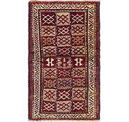 Link to 117cm x 198cm Shiraz-Lori Persian Runner Rug