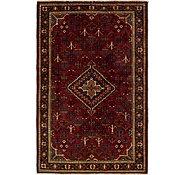 Link to 4' 7 x 7' Joshaghan Persian Rug