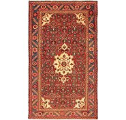 Link to 4' 1 x 7' Zanjan Persian Rug