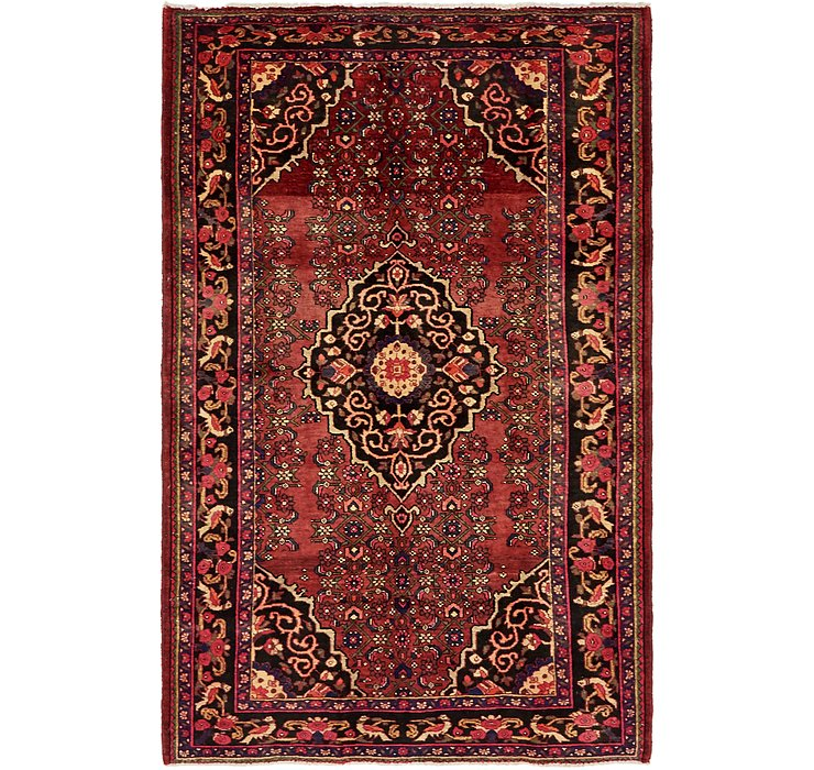 4' 8 x 7' Gholtogh Persian Rug