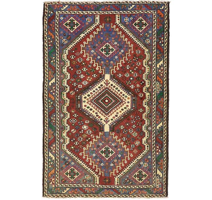 4' 2 x 6' 6 Shiraz Persian Rug