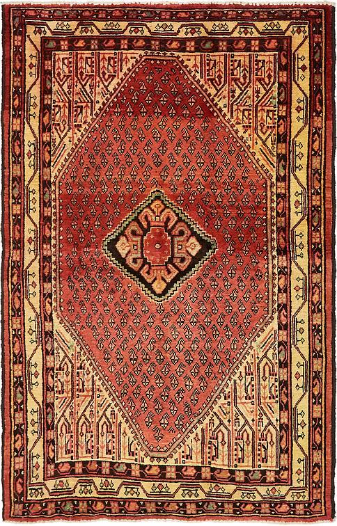 Red 4 4 X 6 10 Farahan Persian Rug Persian Rugs Irugs Uk