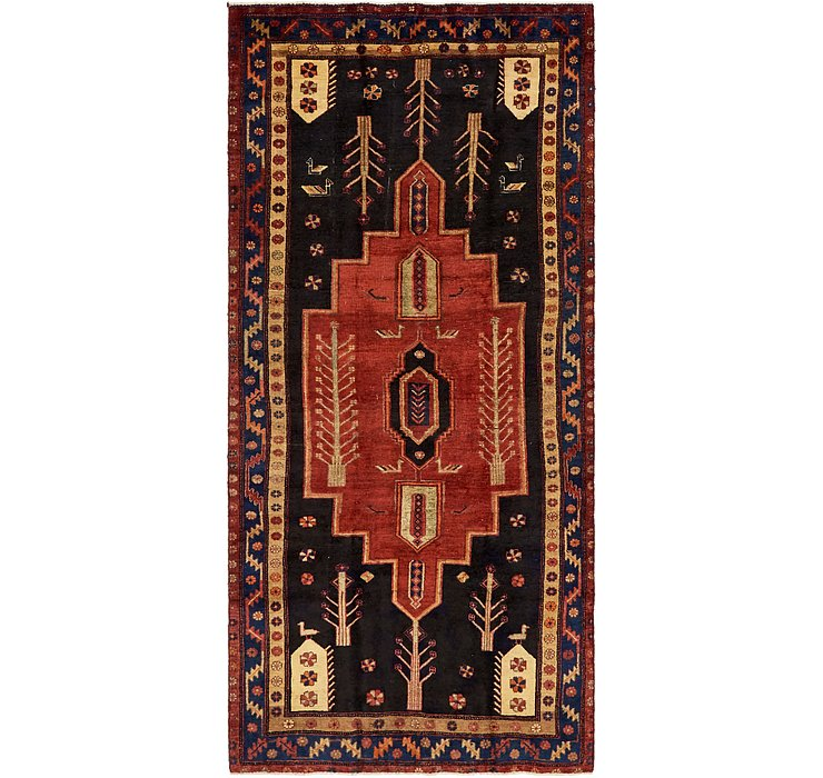 4' 9 x 10' Koliaei Persian Runner ...