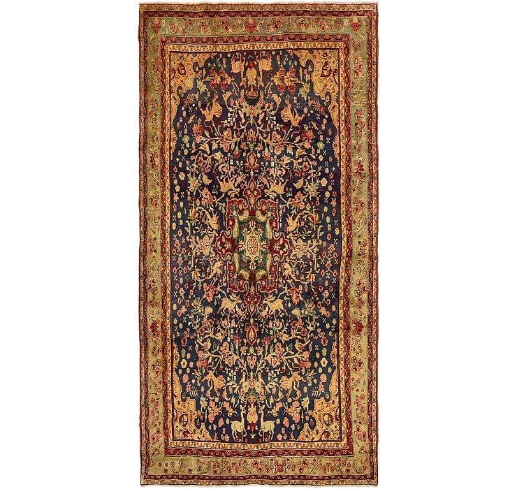 5' x 10' 5 Bidjar Persian Runner Rug