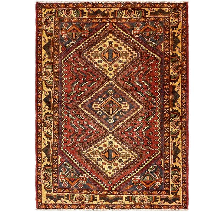 5' x 6' 10 Shiraz Persian Rug