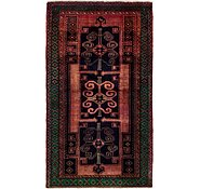 Link to 4' 10 x 8' 4 Khamseh Persian Rug
