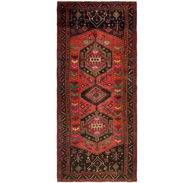 4' 3 x 9' 10 Sirjan Persian Runner Rug